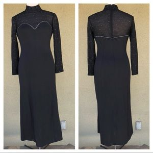 St. John Santana knit evening gown